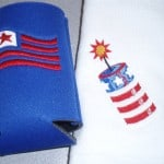 Hand towels & coolies for your Fourth of July Party
