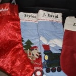 Personlized Christmas Stockings