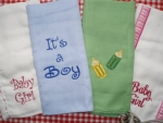 Burp Cloths in all kinds of great designs