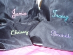 Cosmetic Bags - great bridesmaid gift