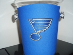 Personalized neoprene ice bucket covers