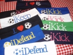 Soccer Themed Headbands