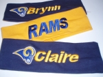 Headbands - support your favorite professional sports team