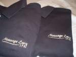 Polos with your company logo for branding image
