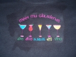 Wine Themed Party shirts
