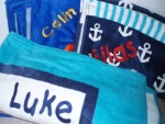 Embroidered Beach Towels