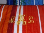Monogrammed / Personalized Towels